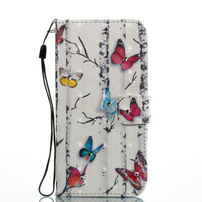Butterflies 3D Painting Point Drill Phone Case for Iphone XiPhone Cases/Covers<br>Butterflies 3D Painting Point Drill Phone Case for Iphone X<br><br>Color: Assorted Colors<br>Compatible for Apple: iPhone 8<br>Features: Cases with Stand, With Credit Card Holder, With Lanyard, Dirt-resistant, Wallet Case<br>Material: PU Leather, TPU<br>Package Contents: 1 x Phone Case<br>Package size (L x W x H): 14.80 x 7.80 x 1.80 cm / 5.83 x 3.07 x 0.71 inches<br>Package weight: 0.0600 kg<br>Style: Glow in the Dark, Beautiful Girl, Diamond/Rhinestone Decorated Case, Novelty
