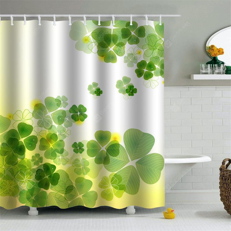 Shower Curtain Mouldproof Waterproof Toilet Bathroom Partition 180 x 180cm