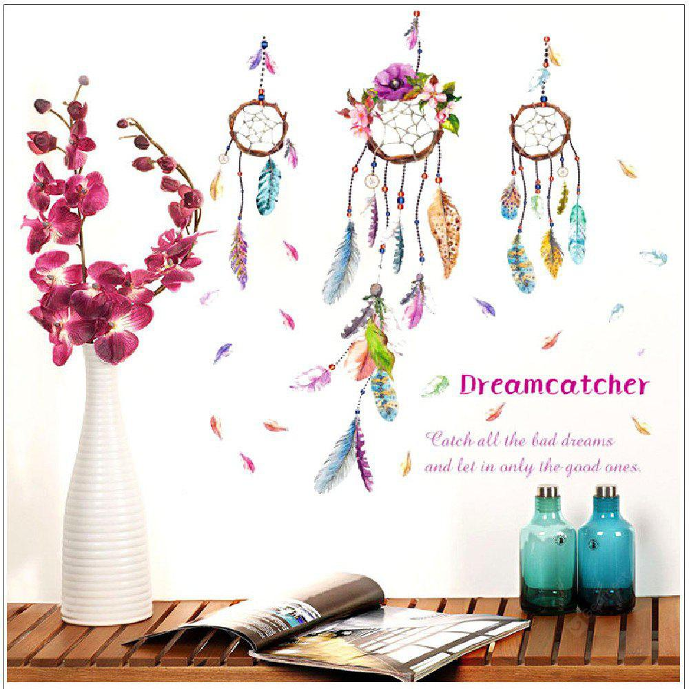 DSU Color Dream Monternet and Campanula PVC Wall Sticker