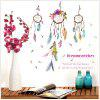 DSU Color Dream Monternet and Campanula PVC Wall Sticker - MIX COLOR