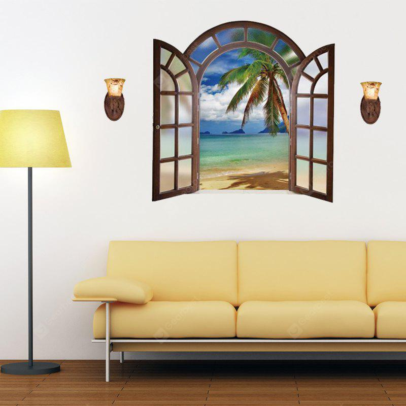 DSU 3D Window Bedroom Living Room Video Wall Background Decoration