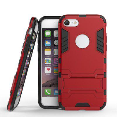 TPU + PC 3 in 1 Armor Hybrid Case with Stand for iPhone 7iPhone Cases/Covers<br>TPU + PC 3 in 1 Armor Hybrid Case with Stand for iPhone 7<br><br>Compatible for Apple: iPhone 7<br>Features: Anti-knock, Cases with Stand, Dirt-resistant<br>Material: TPU, PC<br>Package Contents: 1 x Phone Case<br>Package size (L x W x H): 18.00 x 9.00 x 1.00 cm / 7.09 x 3.54 x 0.39 inches<br>Package weight: 0.0330 kg<br>Product weight: 0.0250 kg<br>Style: Solid Color