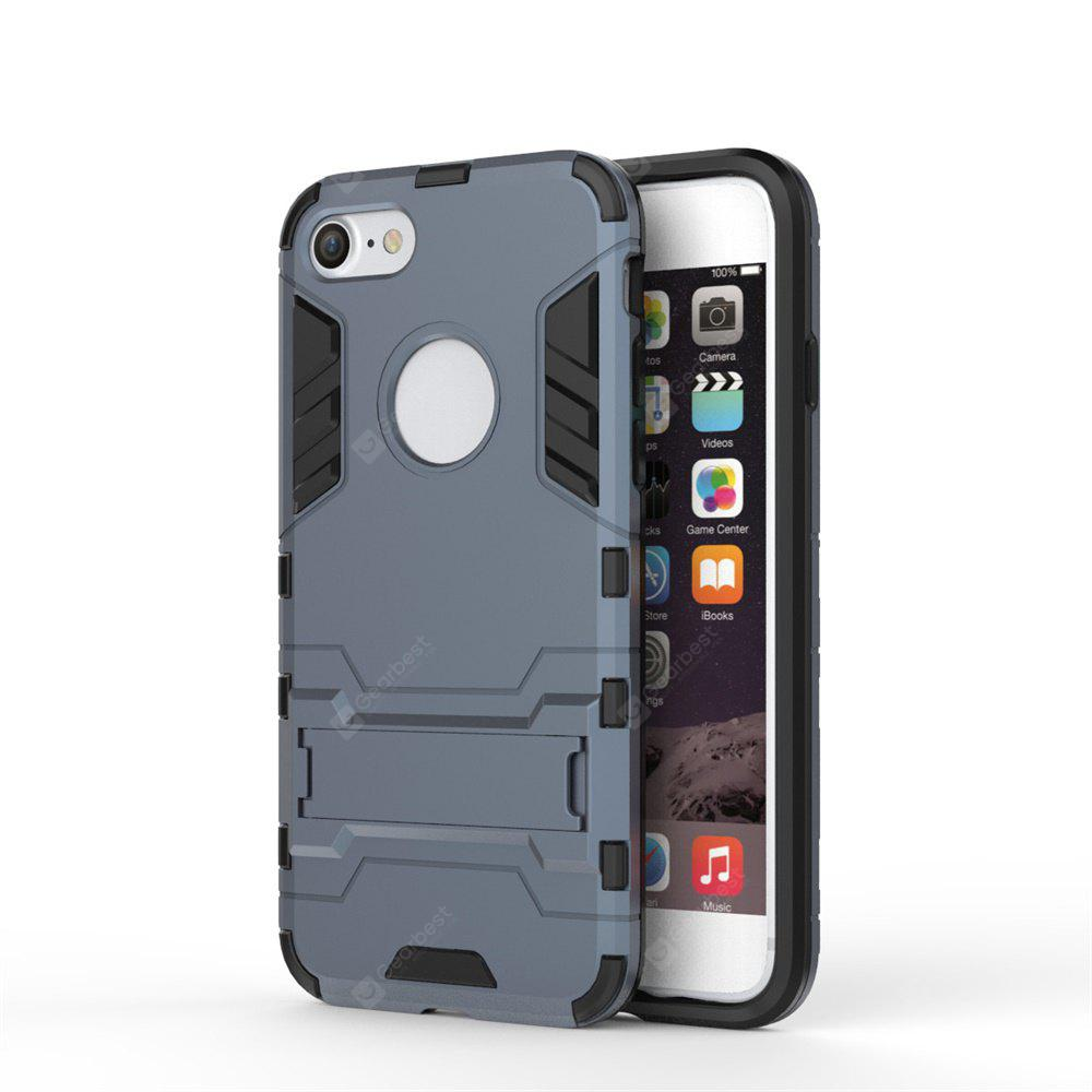 TPU + PC 3 in 1 Armor Hybrid Case with Stand for iPhone 7