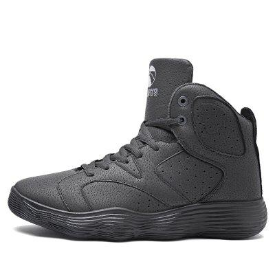 Men Shoes High Heel Sports Shoes Basketball Shoes Tide Shoes Autumn and WinterAthletic Shoes<br>Men Shoes High Heel Sports Shoes Basketball Shoes Tide Shoes Autumn and Winter<br><br>Available Size: 39-44<br>Closure Type: Lace-Up<br>Feature: Breathable<br>Gender: For Men<br>Outsole Material: Rubber<br>Package Contents: 1 x Shoes( Pair)<br>Pattern Type: Solid<br>Season: Winter<br>Upper Material: PU<br>Weight: 1.2000kg