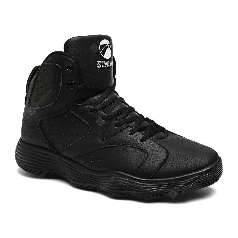 Men Shoes High Heel Sports Shoes Basketball Shoes Tide Shoes Autumn and Winter