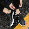 Men 'S Fashion Shoes Sports and Leisure Students Men' S Shoes Running Shoes - BLACK