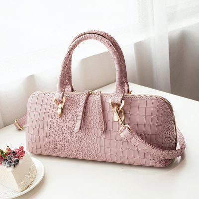 Womens Handbag Solid Color Stone Shaped Line Multifunctional Stylish BagHandbags<br>Womens Handbag Solid Color Stone Shaped Line Multifunctional Stylish Bag<br><br>Closure Type: Zipper<br>Embellishment: Sequined<br>Exterior: None<br>Gender: For Women<br>Handbag Size: Medium(30-50cm)<br>Handbag Type: Shoulder bag<br>Lining Material: Polyester<br>Main Material: PU<br>Number of Handles / Straps: Single<br>Package Contents: 1 x Bag<br>Package size (L x W x H): 36.00 x 28.00 x 10.00 cm / 14.17 x 11.02 x 3.94 inches<br>Package weight: 1.0000 kg<br>Pattern Type: Solid<br>Shape: Casual Tote<br>Size(CM)(L*W*H): 33*12*15<br>Style: Fashion<br>Weight: 2.0160kg<br>With Pendant: No