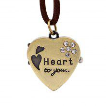 Heart Pocket Watch Set Auger