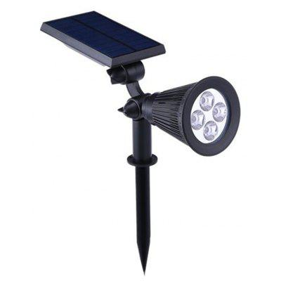 Colorful Gradient LED Polycrystalline Silicon Solar Outdoor Garden Decorative Lamp