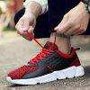 Hommes Mode Chaussures Volantes Respirantes - ROUGE