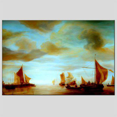 Hua Tuo Sailing Oil Painting 60 x 90CM OSR - 160310Oil Paintings<br>Hua Tuo Sailing Oil Painting 60 x 90CM OSR - 160310<br><br>Brand: Hua Tuo<br>Craft: Oil Painting<br>Form: One Panel<br>Material: Canvas<br>Package Contents: 1 x Oil Painting<br>Package size (L x W x H): 62.00 x 92.00 x 2.90 cm / 24.41 x 36.22 x 1.14 inches<br>Package weight: 1.0000 kg<br>Painting: Include Inner Frame<br>Product size (L x W x H): 60.00 x 90.00 x 2.70 cm / 23.62 x 35.43 x 1.06 inches<br>Product weight: 0.8000 kg<br>Shape: Horizontal Panoramic<br>Style: European Style, Other<br>Subjects: Abstract<br>Suitable Space: Living Room,Bedroom,Dining Room,Office,Hotel,Cafes,Kids Room,Kids Room,Study Room / Office,Boys Room,Girls Room,Game Room