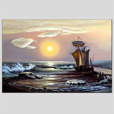 Hua Tuo Sailing Oil Painting 60 x 90CM OSR - 160315Oil Paintings<br>Hua Tuo Sailing Oil Painting 60 x 90CM OSR - 160315<br><br>Brand: Hua Tuo<br>Craft: Oil Painting<br>Form: One Panel<br>Material: Canvas<br>Package Contents: 1 x Oil Painting<br>Package size (L x W x H): 62.00 x 92.00 x 2.90 cm / 24.41 x 36.22 x 1.14 inches<br>Package weight: 1.0000 kg<br>Painting: Include Inner Frame<br>Product size (L x W x H): 60.00 x 90.00 x 2.70 cm / 23.62 x 35.43 x 1.06 inches<br>Product weight: 0.8000 kg<br>Shape: Horizontal Panoramic<br>Style: European Style, Others<br>Subjects: Abstract<br>Suitable Space: Living Room,Bedroom,Dining Room,Office,Hotel,Cafes,Kids Room,Kids Room,Study Room / Office,Boys Room,Girls Room,Game Room