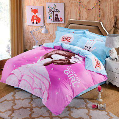 Autumn Fashion Bedding article Four piece suit