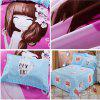 Autumn Fashion Bedding article Four piece suit - PINK + BLUE