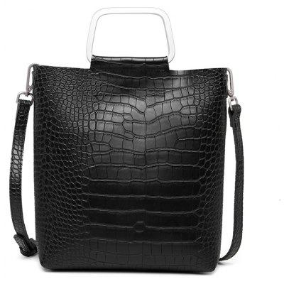 Fashion Crocodile Tattoo Bags Casual Bag with One-Shoulder Bag