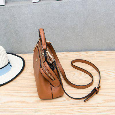 All-Match Leisure Bags Mini Single Shoulder BagCrossbody Bags<br>All-Match Leisure Bags Mini Single Shoulder Bag<br><br>Closure Type: Zipper<br>Gender: For Women<br>Handbag Type: Crossbody bag<br>Main Material: PU<br>Occasion: Versatile<br>Package Contents: 1 x Cross-body Bag<br>Package size (L x W x H): 23.00 x 7.50 x 10.00 cm / 9.06 x 2.95 x 3.94 inches<br>Package weight: 0.4000 kg<br>Pattern Type: Solid<br>Style: Retro