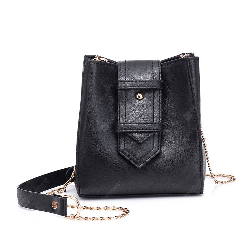 Fashion Casual Drawstring Bucket Bag Retro Handbag Tote Bag for Women With Shoulder Strap