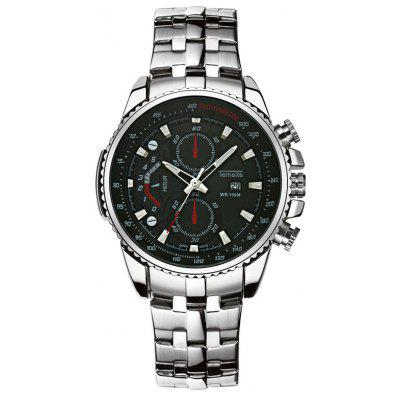 Temeite 4642 Zinc Alloy Band Sports Men Quartz Watch
