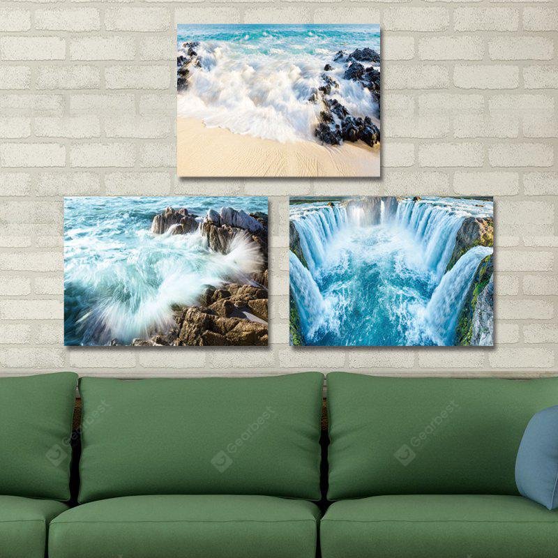 DYC 10204 3PCS Landscape Print Art Ready to Hang Paintings