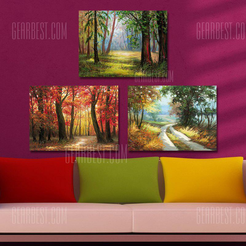 DYC 10206 3PCS Landscape Print Art Ready to Hang Paintings