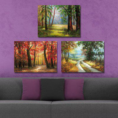 DYC 10207 3PCS Landscape Print Art Ready to Hang PaintingsPrints<br>DYC 10207 3PCS Landscape Print Art Ready to Hang Paintings<br><br>Brand: DYC<br>Craft: Oil Painting<br>Form: Three Panels<br>Material: Canvas<br>Package Contents: 1 x Set of Print Arts<br>Package size (L x W x H): 34.00 x 44.00 x 8.00 cm / 13.39 x 17.32 x 3.15 inches<br>Package weight: 1.2000 kg<br>Painting: Include Inner Frame<br>Shape: Horizontal Panoramic<br>Style: Landscape, Scenery / Landscape<br>Subjects: Landscape<br>Suitable Space: Living Room,Dining Room,Office,Kids Room,Study Room / Office