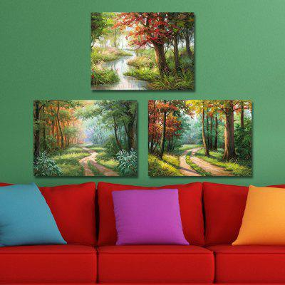 DYC 10208 3PCS Landscape Print Art Ready to Hang PaintingsPrints<br>DYC 10208 3PCS Landscape Print Art Ready to Hang Paintings<br><br>Brand: DYC<br>Craft: Oil Painting<br>Form: Three Panels<br>Material: Canvas<br>Package Contents: 1 x Set of Print Arts<br>Package size (L x W x H): 34.00 x 44.00 x 8.00 cm / 13.39 x 17.32 x 3.15 inches<br>Package weight: 1.2000 kg<br>Painting: Include Inner Frame<br>Shape: Horizontal Panoramic<br>Style: Landscape, Scenery / Landscape<br>Subjects: Landscape<br>Suitable Space: Living Room,Kids Room,Kids Room