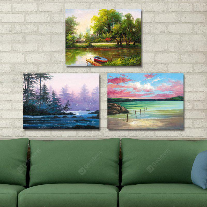 DYC 10210 3PCS Landscape Print Art Ready to Hang Paintings