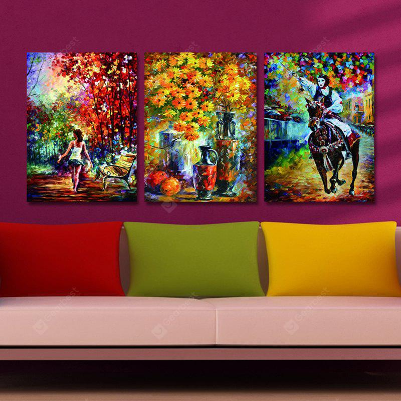 DYC 10214 3PCS Impression Landscape Print Art Ready to Hang Paintings