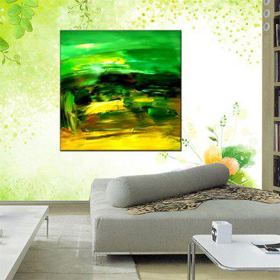 Hua Tuo Abstract Oil Painting Size 80 x 80CM Osr - 160345