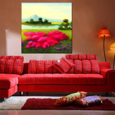Hua Tuo Flower Oil Painting Size 80 x 80CM OSR - 160350