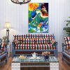 Hua Tuo Abstract Oil Painting 60 x 90CM OSR-160354 - COLORFUL
