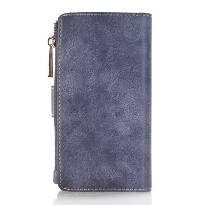 Crazy Horse Texture 2 in 1 Leather Wallet Case with Zipper for iPhone 7 / 8 folio wallet cross texture leather case for iphone 7 pinky beach