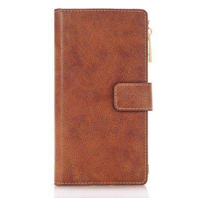 Crazy Horse Texture 2 in 1 Zipper Wallet Stand Case for iPhone 7 Plus / 8 Plus