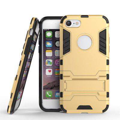 TPU + PC 3 in 1 Armor Hybrid Case with Stand for iPhone 8iPhone Cases/Covers<br>TPU + PC 3 in 1 Armor Hybrid Case with Stand for iPhone 8<br><br>Compatible for Apple: iPhone 8<br>Features: Cases with Stand, Dirt-resistant<br>Material: PC, TPU<br>Package Contents: 1 x Phone Case<br>Package size (L x W x H): 18.00 x 9.00 x 1.00 cm / 7.09 x 3.54 x 0.39 inches<br>Package weight: 0.0320 kg<br>Product weight: 0.0250 kg<br>Style: Solid Color