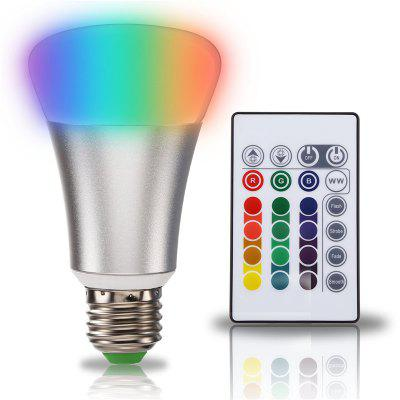 SUPli 10W Bombilla LED Cambio de Color RGB Mando a Distancia Sincronización con Doble Memoria y Control de Interruptor de Pared
