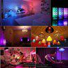 SUPli 10W Timing Remote Controller RGB Color Changing LED Light Bulb with Double Memory and Wall Switch Control - RGB