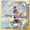 Christmas Gift Series Romantic Snowman Flannel Pillow Cover - 混合色(COLORMIX)