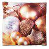 Christmas Gift Series Golden Egg Surprise Flannel Material Pillow Cover - 混合色(COLORMIX)