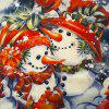 Christmas Gift Series  Snowman Brothers Cloth Material Pillow Cover - 混合色(COLORMIX)