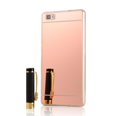 Luxury Mirror Back Shock-absorption TPU Bumper Anti-Scratch Bright Reflection Protective Case for HUAWEI Honor P8 LiteCases &amp; Leather<br>Luxury Mirror Back Shock-absorption TPU Bumper Anti-Scratch Bright Reflection Protective Case for HUAWEI Honor P8 Lite<br><br>Package Contents: 1 x Phone Case<br>Package size (L x W x H): 18.00 x 13.00 x 3.00 cm / 7.09 x 5.12 x 1.18 inches<br>Package weight: 0.0600 kg
