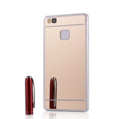 Luxury Mirror Back Shockproof TPU Bumper Anti-Scratch Bright Reflection Protective Case for HUAWEI Honor P9 LiteCases &amp; Leather<br>Luxury Mirror Back Shockproof TPU Bumper Anti-Scratch Bright Reflection Protective Case for HUAWEI Honor P9 Lite<br><br>Package Contents: 1 x Phone Case<br>Package size (L x W x H): 18.00 x 13.00 x 3.00 cm / 7.09 x 5.12 x 1.18 inches<br>Package weight: 0.0600 kg
