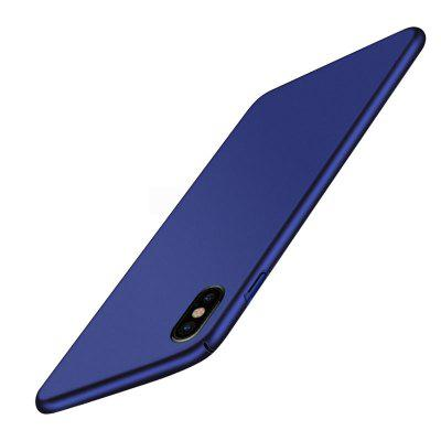 Sleek Fully Protective (Naked Phone Texture) Matt Finish Hard Case Cover for iPhone X