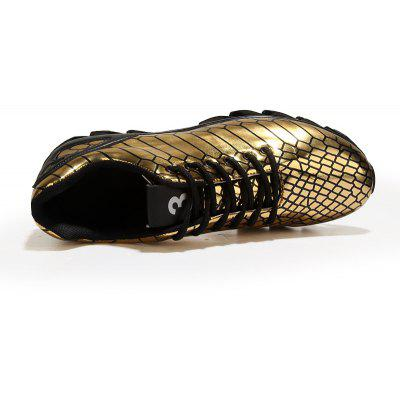 MenS Knife Shoes Mirror Printed Reflective Tide Shoes Sports ShoesAthletic Shoes<br>MenS Knife Shoes Mirror Printed Reflective Tide Shoes Sports Shoes<br><br>Available Size: 39-44<br>Closure Type: Lace-Up<br>Embellishment: None<br>Gender: For Men<br>Outsole Material: Rubber<br>Package Contents: 1xShoes(Pair)<br>Pattern Type: Solid<br>Season: Spring/Fall<br>Toe Shape: Round Toe<br>Toe Style: Closed Toe<br>Upper Material: PU<br>Weight: 1.2000kg