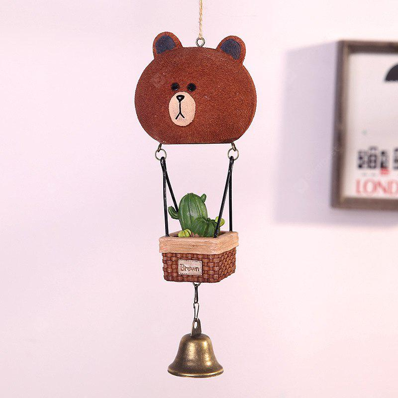 739 1PCS Lovely Resin Doll Garden Wind Bell
