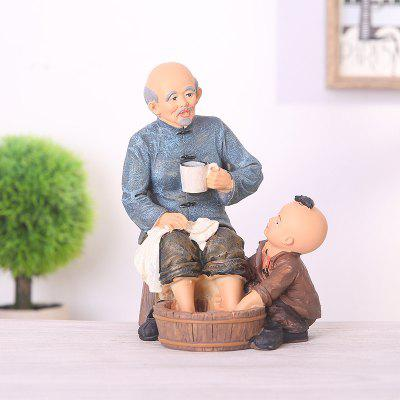 745 1PCS Creative Filial Piety Is An Old Thing Art Furnishing Article