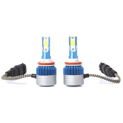 New Product Pair of H11 Car LED Headlight Cob Light Source