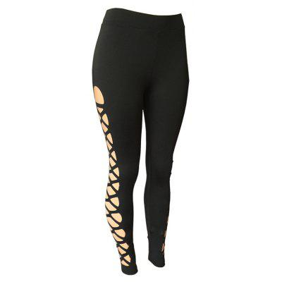 Women'S Fashion Sexy Hollow Yoga Pants