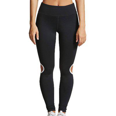 Women'S Fashion Hollow Quick-Drying Yoga Pants