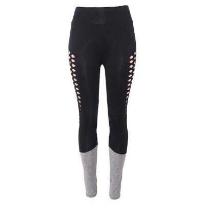 Women'S Sexy Stitching Sweat Quick Drying Yoga Pants