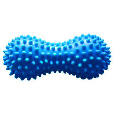 Peanut Massage Ball - Double Lacrosse Massage Ball & Mobility Ball for Physical Therapy - Plantar Fasciitis, Yoga, Crossfit, Trigger Point Therapy,Muscle Relaxer, Acupoint Massage OS005
